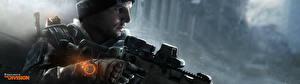 Фотографии Tom Clancy Снайперская винтовка Снайперы The Division