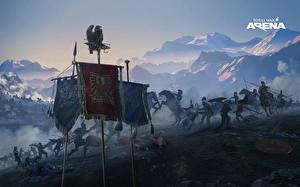 Картинки Воины Битвы Total War: Arena