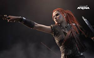 Фото Воители Total War: Arena Рыжая Девушки