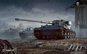 Фото WOT Танки Немецкий Pz.Kpfw. VII Игры