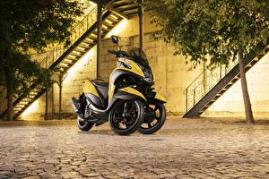 Фотография Yamaha Трицикл 2016-17 Tricity 125 мотоцикл