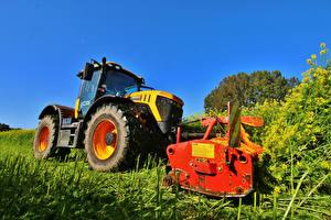 Обои Трактор 2014-17 JCB Fastrac 4220