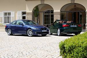Картинка BMW Двое Металлик Alpina B3 S Bi-Turbo Cabrio, Alpina B3 S Bi-Turbo Coupe