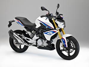 Фотографии BMW - Мотоциклы Серый фон 2015-16 G 310 R