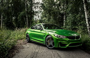 Фотография BMW Зеленая Металлик f82 автомобиль