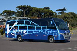 Фото Автобус Синий 2012-17 Volare W9 Visione Mobile Cinema Bus Авто