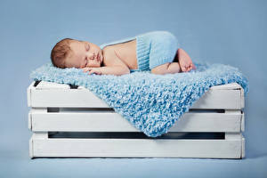 Фотография Цветной фон Грудной ребёнок Спящий Ребёнок