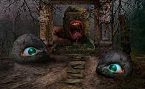 Картинка Глаза Фантастика