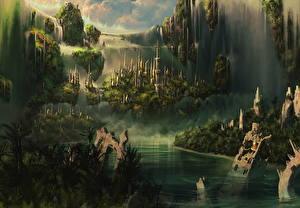Картинки Фантастический мир Фэнтези