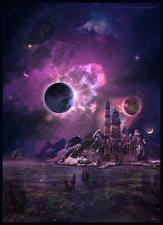 Фото Фантастический мир Планеты Фантастика