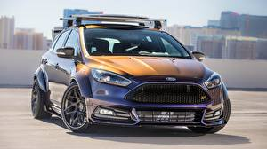 Фотографии Ford Стайлинг Спереди Blood Type Racing, Focus ST Автомобили