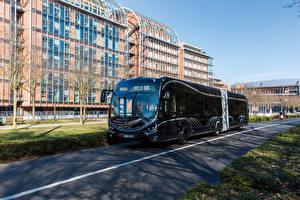 Фотографии Ивеко Автобус Черный 2015-17 Iveco Crealis 18 Машины