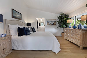 Фотография Интерьер Дизайн Спальня Кровать Подушки