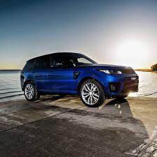 Обои Land Rover Синий Sport Машины