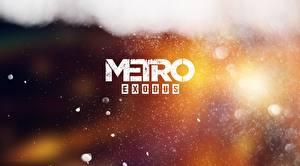 Фотографии Логотип эмблема Metro Exodus, E3 2017 Игры