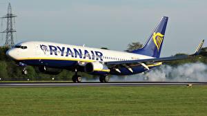 Обои Самолеты Пассажирские Самолеты RYANAIR
