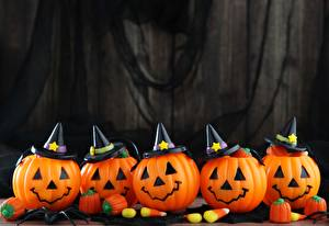 Картинка Тыква Хэллоуин Шляпы