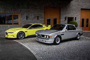 Картинка Старинные BMW Двое 1968-75 E9 машина