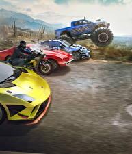 Фотография The Crew Мотоциклист Игры Автомобили