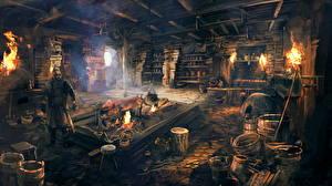 Фото The Witcher 3: Wild Hunt Мужчины Tavern