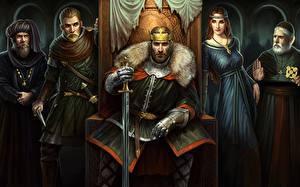 Фотография Total War Воины Мечи Battles Kingdom