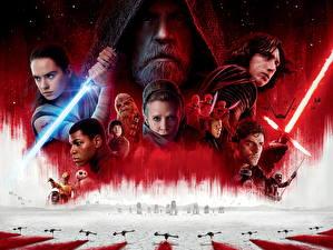 Обои Воители Звёздные войны: Последние джедаи С мечом