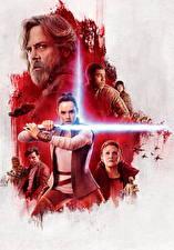 Картинки Воин Звёздные войны: Последние джедаи Световой меч Меча Девушки