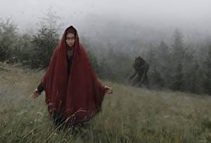 Фото Вервольф Иллюстрации к книгам Wolf bride, Gypsy bride of the Jurand