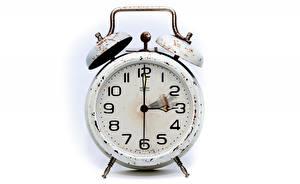 Фотография Часы Будильник Крупным планом Циферблат