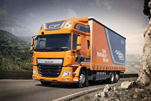 Обои Грузовики DAF Trucks CF 320 FAN Euro 6 6х2 Автомобили картинки
