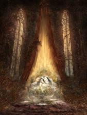 Картинки Dark Souls 3 Игры Фэнтези Девушки
