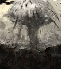 Фотографии Взрывы Солдат Fan ART The Pacific кино