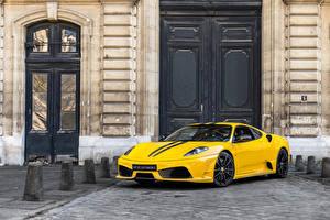 Обои Феррари Желтый Металлик 2007-09 430 Scuderia Pininfarina