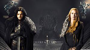 Картинка Игра престолов (телесериал) Кит Харингтон Jon Snow Кино