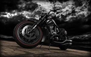Картинки Xарлей дэвидсон Колеса мотоцикл