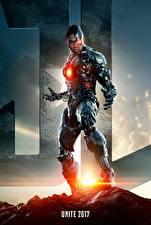 Картинка Лига справедливости 2017 Воины Ray Fisher (Cyborg)