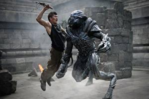 Фотография Ножик Мужчины Скайлайн 2 Сражение Инопланетяне Iko Uwais Кино