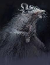 Фотографии Монстры Dark Souls 3 Злой компьютерная игра Фэнтези