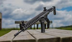 Картинки Винтовки Стол Доски Arms XCR Армия