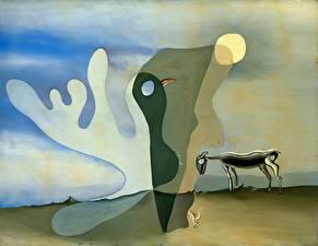 Фото Salvador Dali Живопись The Ram (The Spectral Cow)