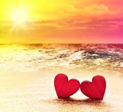 Фотографии Море Сердце 2