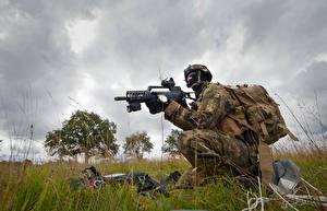 Обои Солдаты Автоматы Немецкий German Navy Special Forces Command (Kommando Spezialkräfte der Marine, KSM)