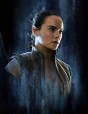 Фотографии Звёздные войны: Последние джедаи Дэйзи Ридли Rey Девушки Знаменитости