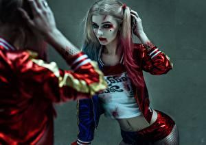 Картинка Отряд самоубийц 2016 Харли Квинн герой Марго Робби Зеркало кино Девушки Знаменитости