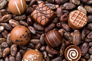 Фотография Сладости Конфеты Шоколад Еда