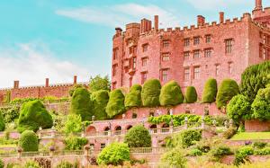 Фото Великобритания Замки Powis Castle