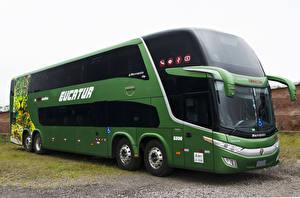 Фото Вольво Автобус Зеленый 2016-17 Marcopolo Paradiso 1800 DD Volvo B450 R 8×2