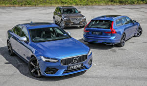 Фотографии Volvo Втроем