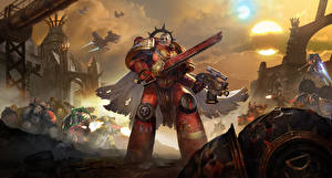 Фото Warhammer 40000 Воины Eternal Crusade, Space marine Игры Фэнтези