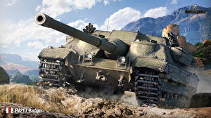 Фотография World of Tanks Самоходка Британские FV217 Badger